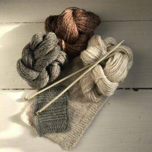 Linen+Alpaca Blended Yarns