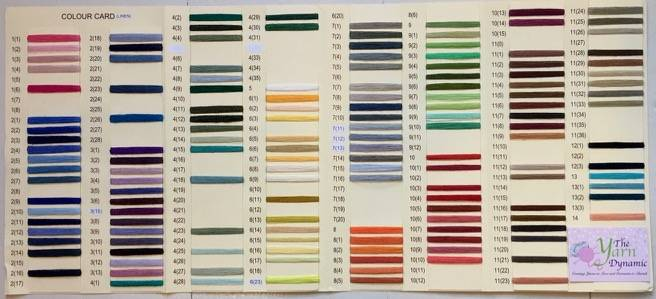 YARN (Linen) Color Chart