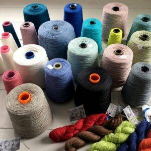 Cones of Yarn for Weavers