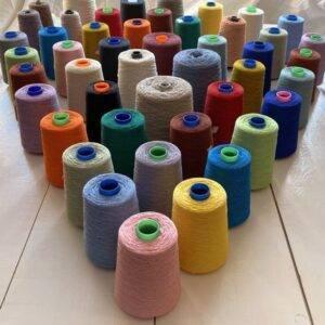 Cones of Yarn for Weavers